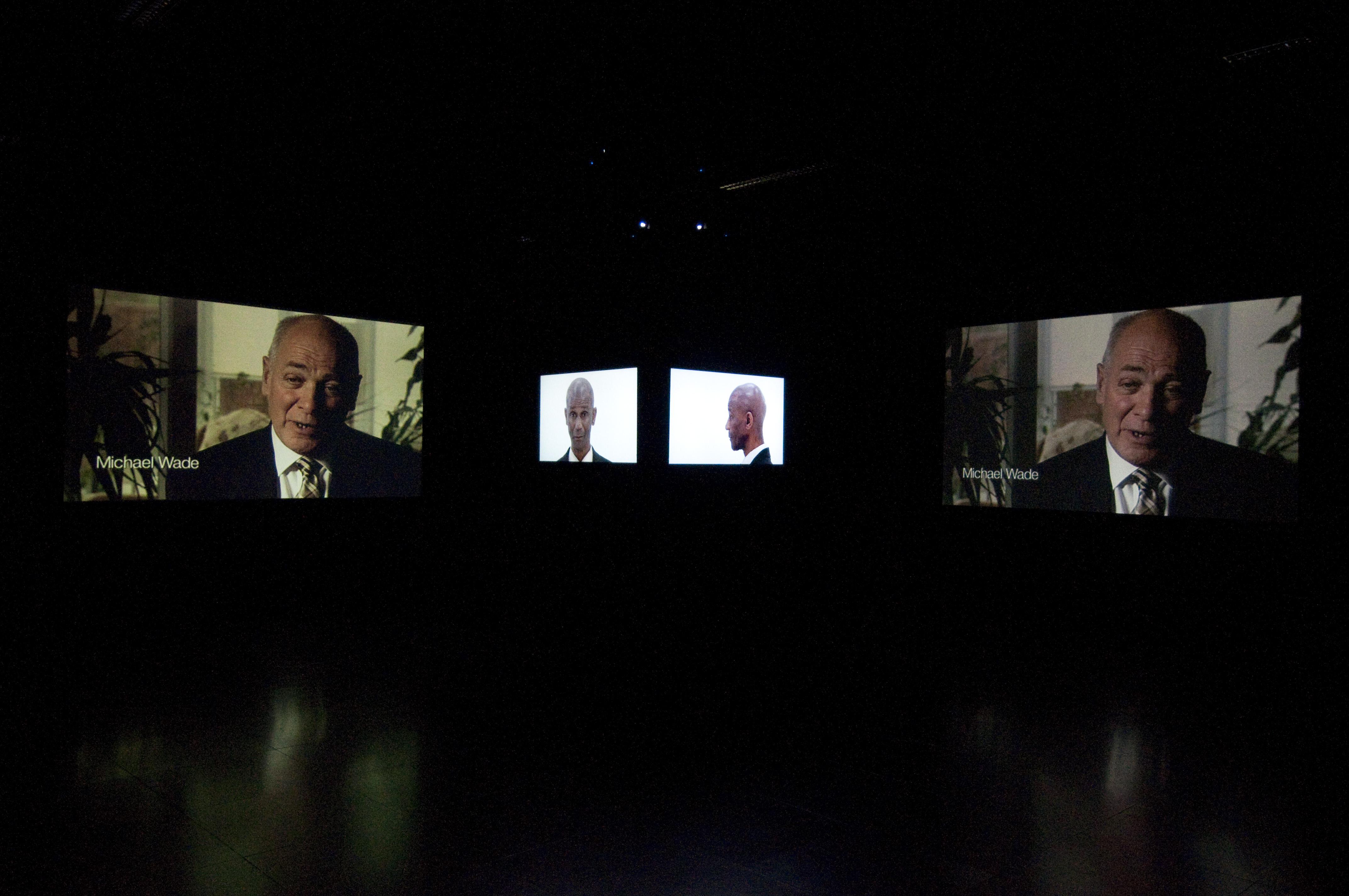 2008. Multi screen film installation.